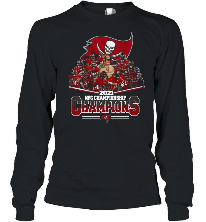 The Tampa Bay Buccaneers Champions 2021 Nfc Championship shirt Long Sleeved T-shirt