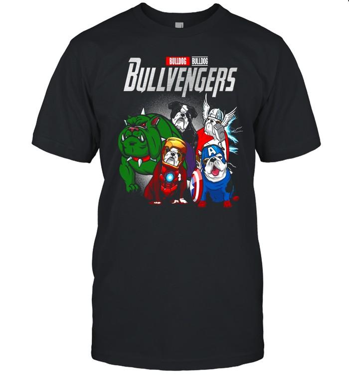 Marvel Avengers Bulldog Bullvengers shirt