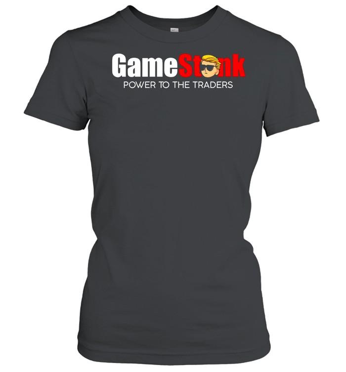 2021 Trump Gamestonk Power To The Traders shirt Classic Women's T-shirt