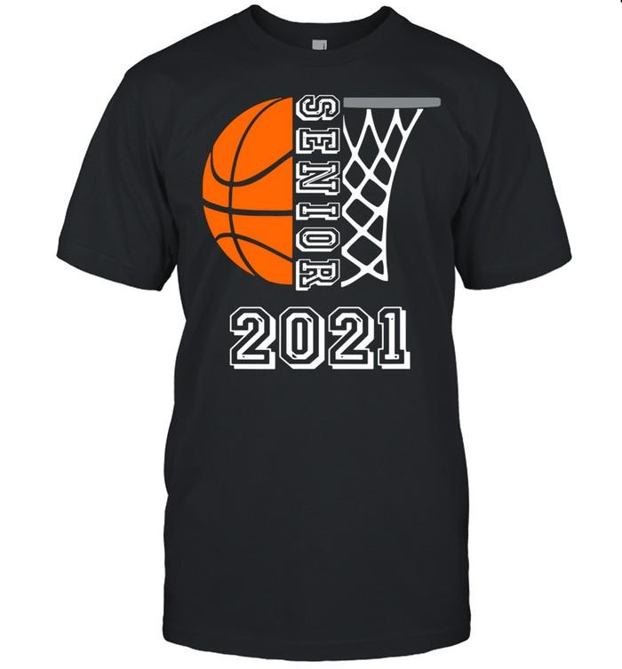 Graduate Senior Class 2021 Graduation Basketball Player shirt Classic Men's T-shirt