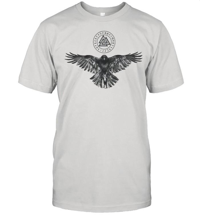 Logo Viking Raven Eagle shirt Classic Men's T-shirt