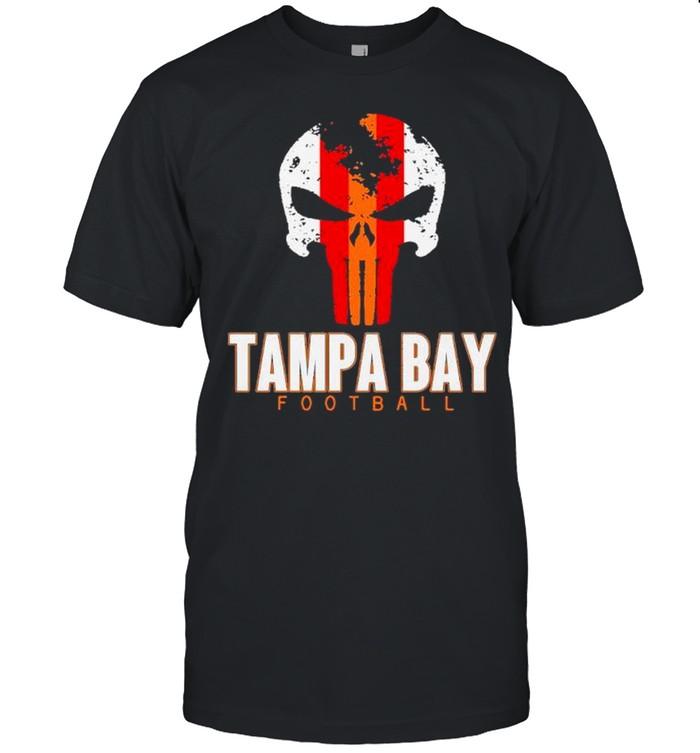 Skull Tampa Bay Hometown Football shirt