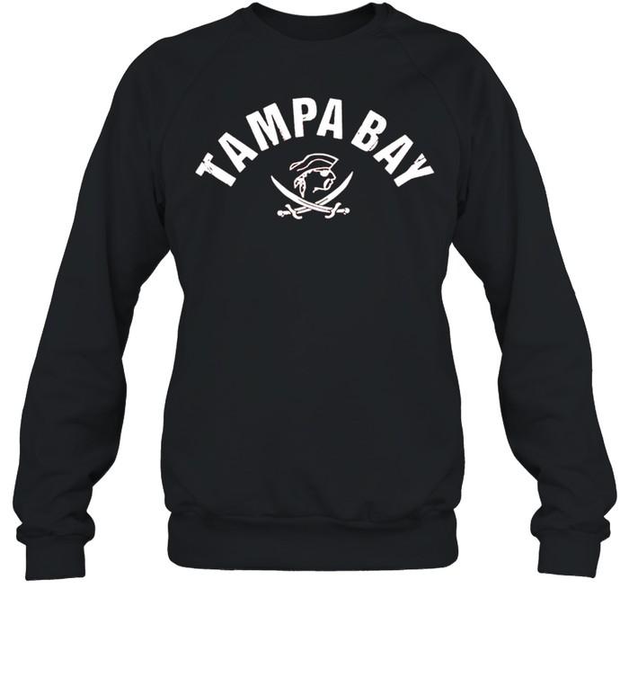 Tampa Bay Old School Pirate TB Cool Tampa Bay shirt Unisex Sweatshirt