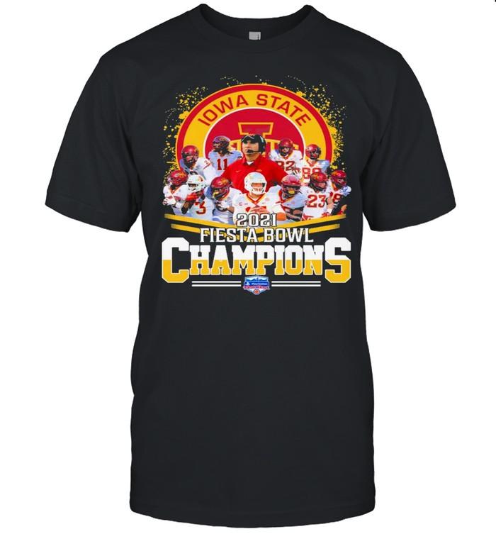 Iowa State Team 2021 Fiesta Bowl Champions shirt