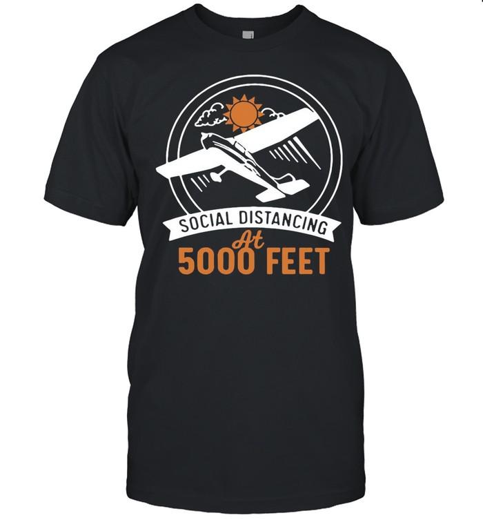 Social Distancing At 5000 Feet shirt Classic Men's T-shirt