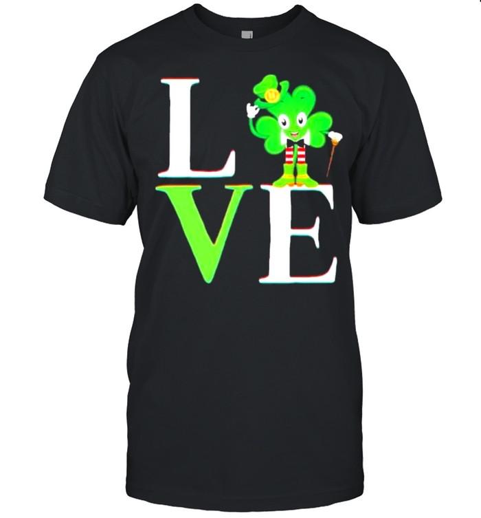 St Patricks day 2021 shamrock love Patricks shirt Classic Men's T-shirt