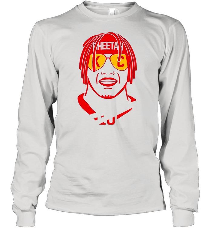Tyreek Hill Svg Theetan Kansas City shirt Long Sleeved T-shirt