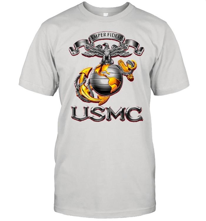 Semper Fidelis USMS Eagle shirt