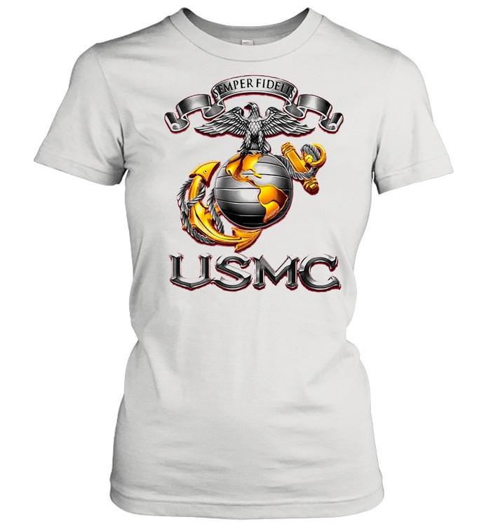 Semper Fidelis USMS Eagle shirt Classic Women's T-shirt