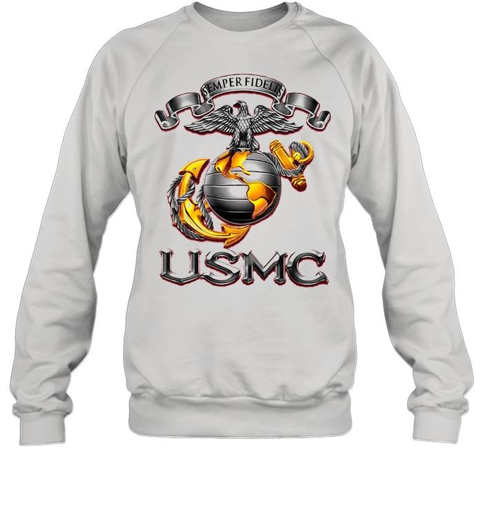 Semper Fidelis USMS Eagle shirt Unisex Sweatshirt