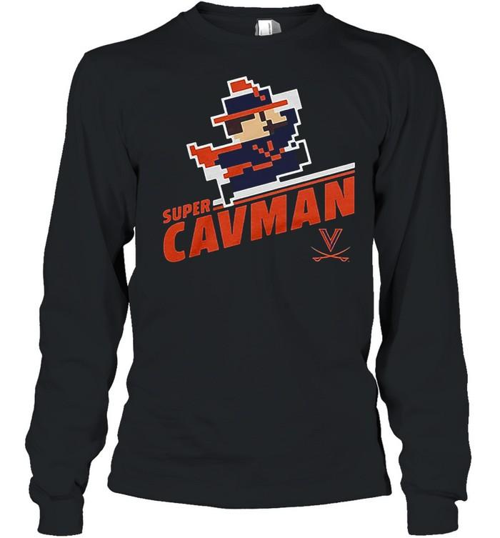 Super CavMan Licensed by Virginia shirt Long Sleeved T-shirt