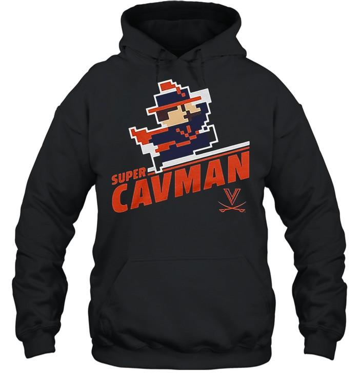 Super CavMan Licensed by Virginia shirt Unisex Hoodie