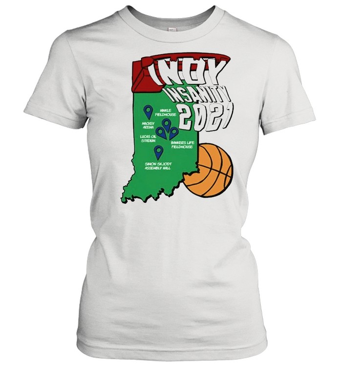 Indy Insanity 2021 Basketball shirt Classic Women's T-shirt