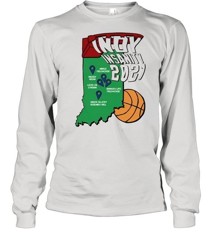 Indy Insanity 2021 Basketball shirt Long Sleeved T-shirt