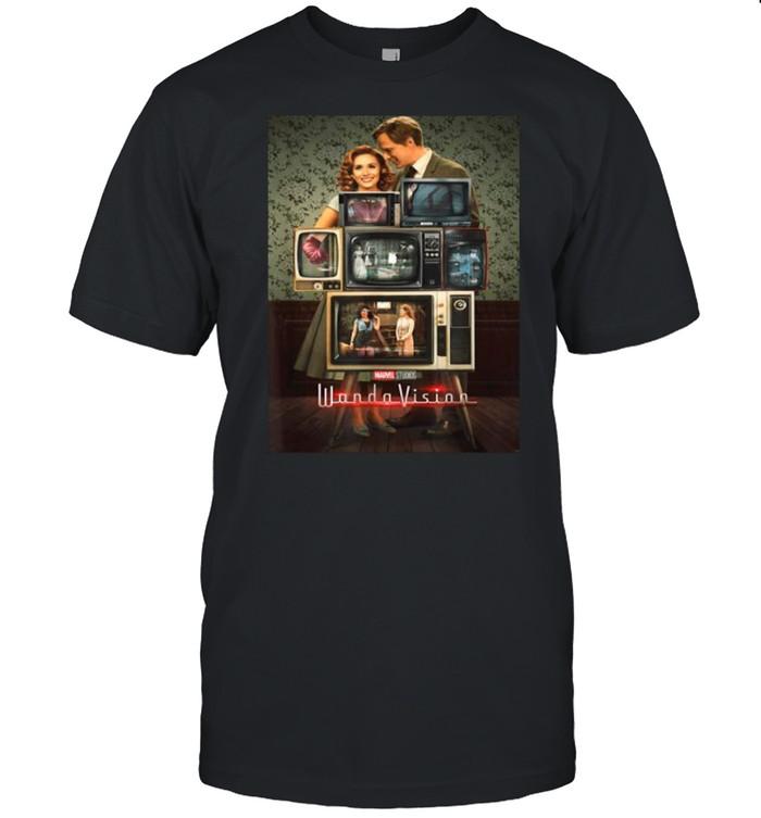 Marvel WandaVision Through The Years Poster shirt Classic Men's T-shirt
