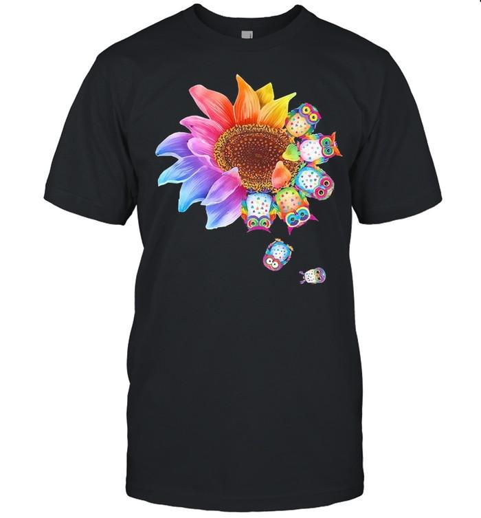 Sunflower Owl shirt