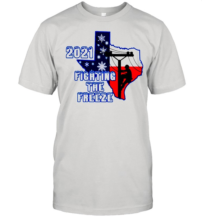2021 fighting the freeze shirt