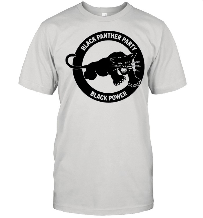 Black panther party black power shirt
