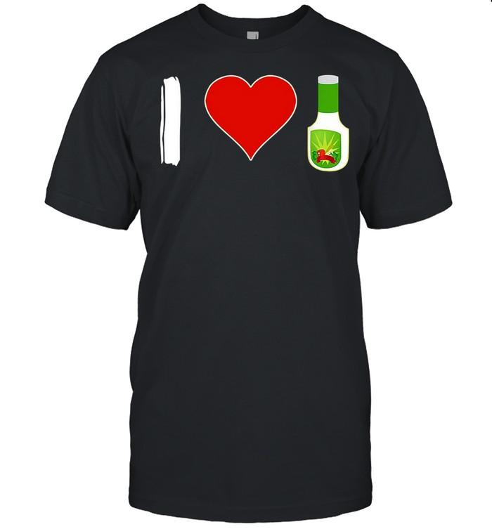 I Love Ranch Food Vegan Vegetarian shirt