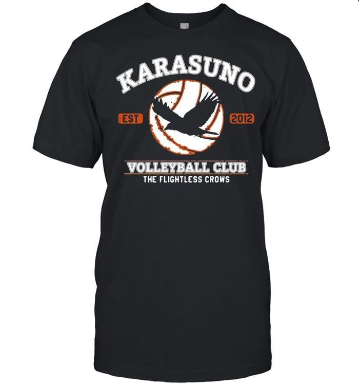 Karasuno Volleyball Club The Flightless Crows shirt