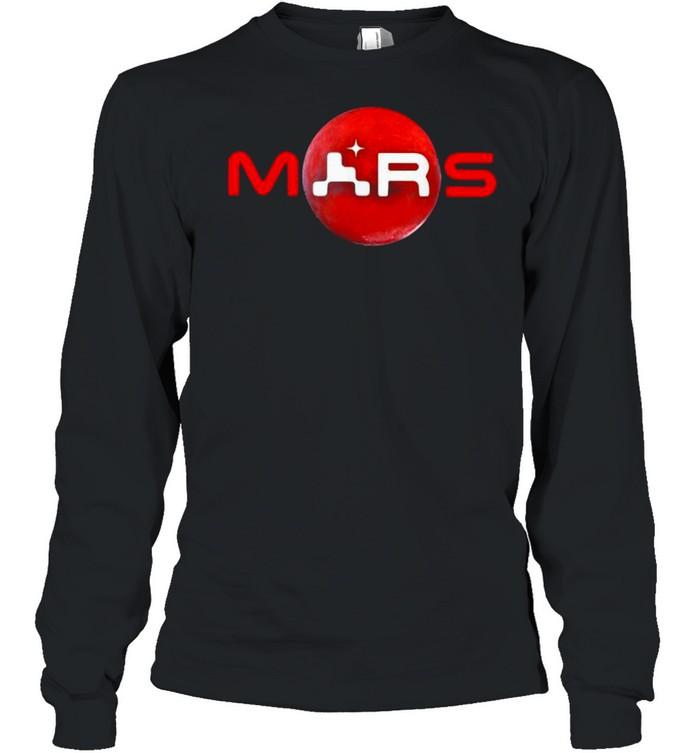 Mars Perseverance Landing Nasa shirt Long Sleeved T-shirt