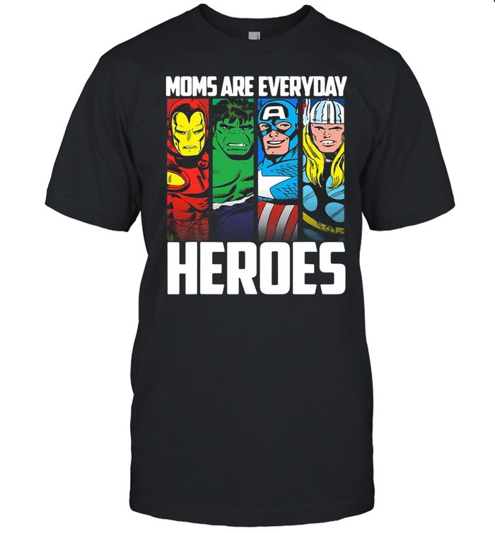Marvel Mother's Day Mom Are Everyday Heroes shirt