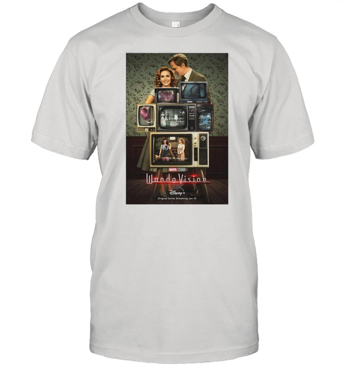 Marvel Wandavision Through The Years shirt