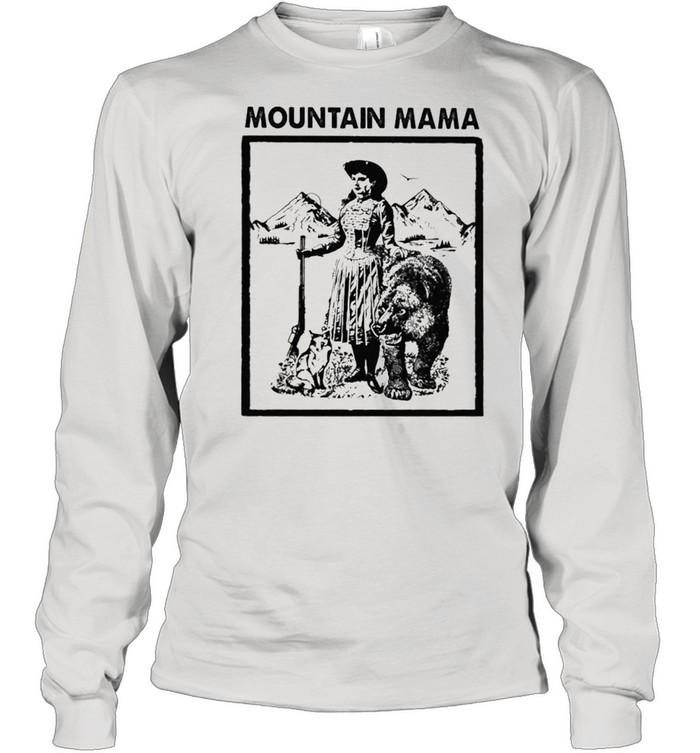 mountain mama shirt Long Sleeved T-shirt