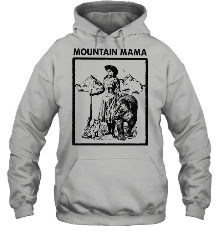 mountain mama shirt Unisex Hoodie