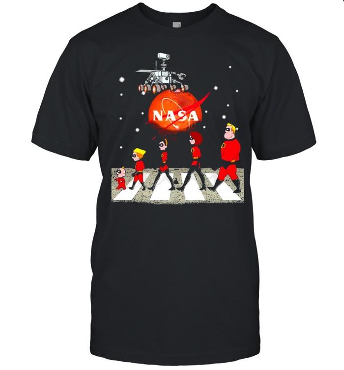 Perseverance Nasa The Beatles Mars shirt