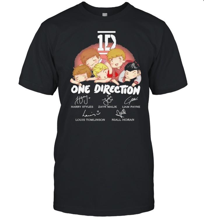 1D One Direction Signature shirt
