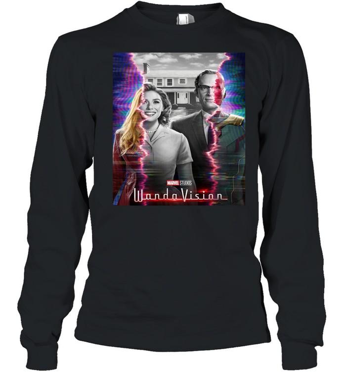 Marvel WandaVision Wanda And Vision Series shirt Long Sleeved T-shirt