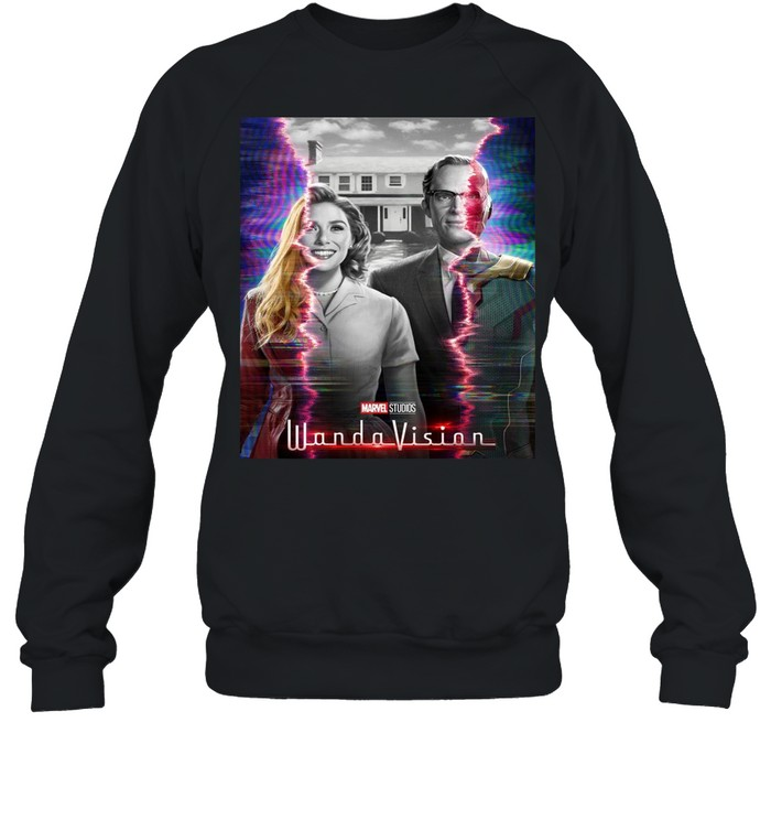 Marvel WandaVision Wanda And Vision Series shirt Unisex Sweatshirt