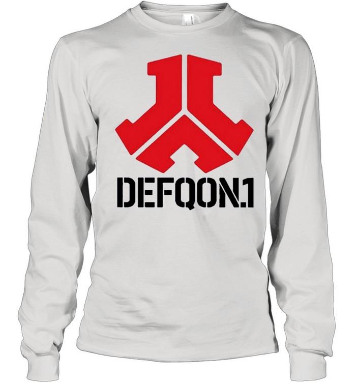 Defqon1 shirt Long Sleeved T-shirt