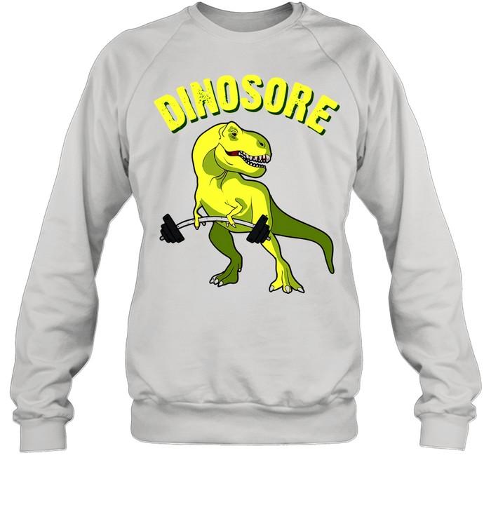 Dinosaur Dinosore Gym shirt Unisex Sweatshirt