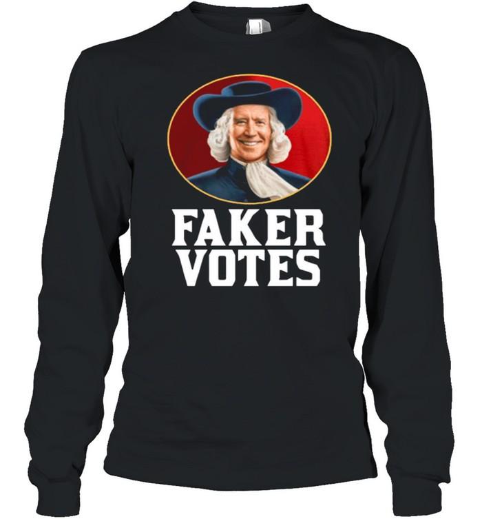 Jim Acosta Faker Votes shirt Long Sleeved T-shirt