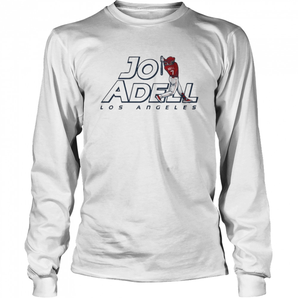 2021 Los Angeles Jo Adell shirt Long Sleeved T-shirt