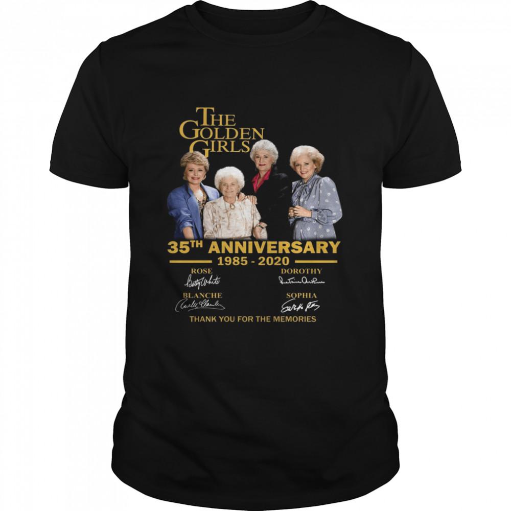 The Golden Girl Anniversary 1985-2020 shirt