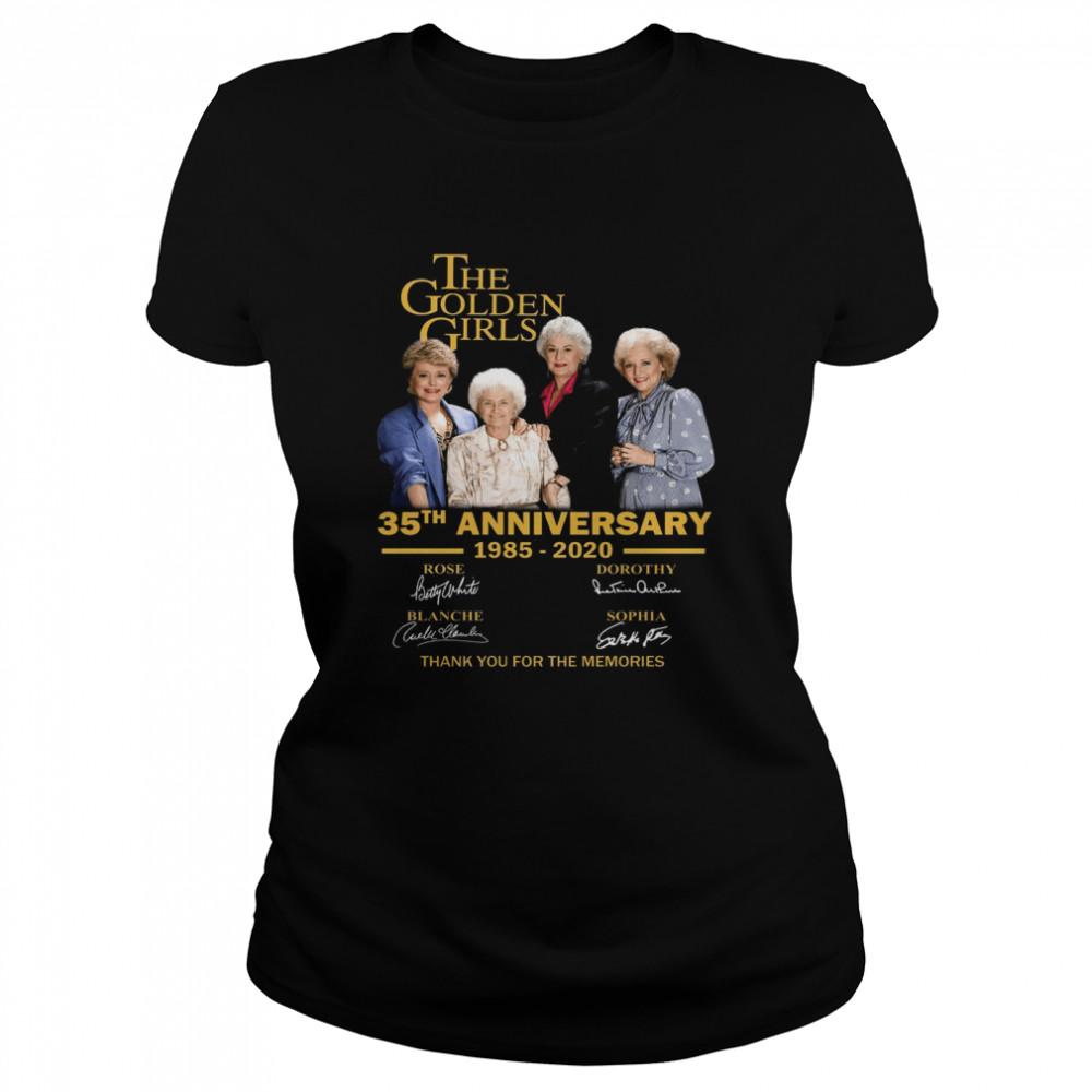The Golden Girl Anniversary 1985-2020 shirt Classic Women's T-shirt