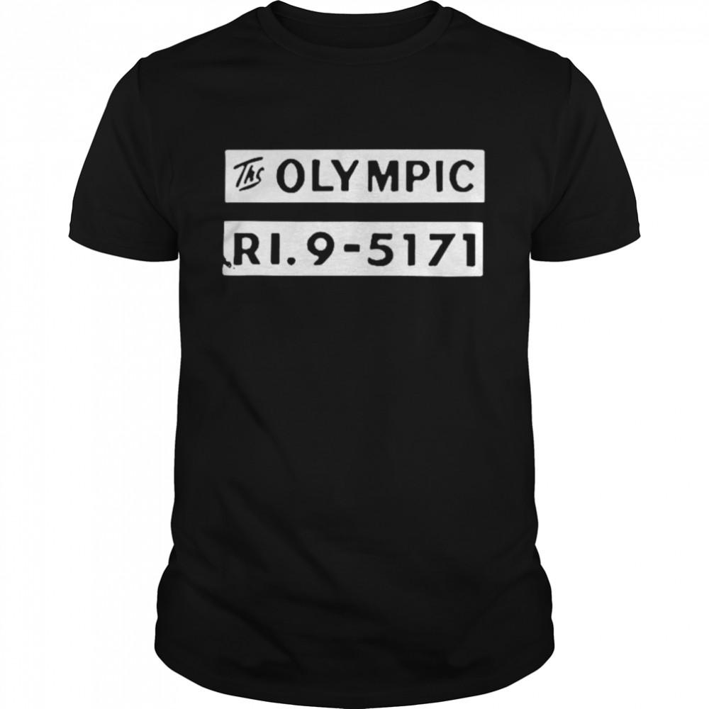 The olympic ri9 5171 shirt