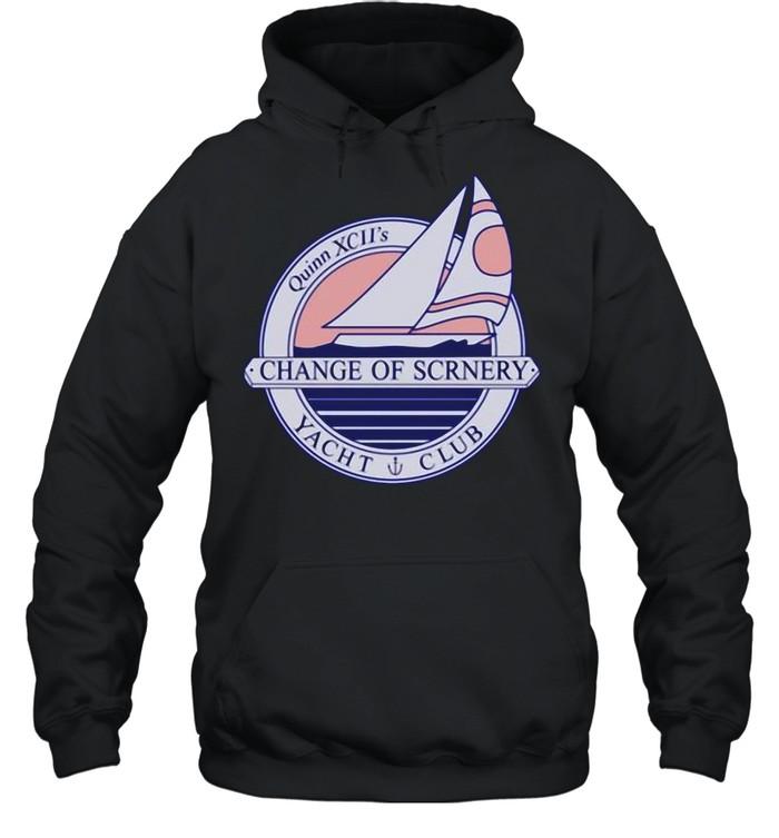 Quinn xciI Merch Change Of Scrnery Cosii Yacht Club shirt Unisex Hoodie
