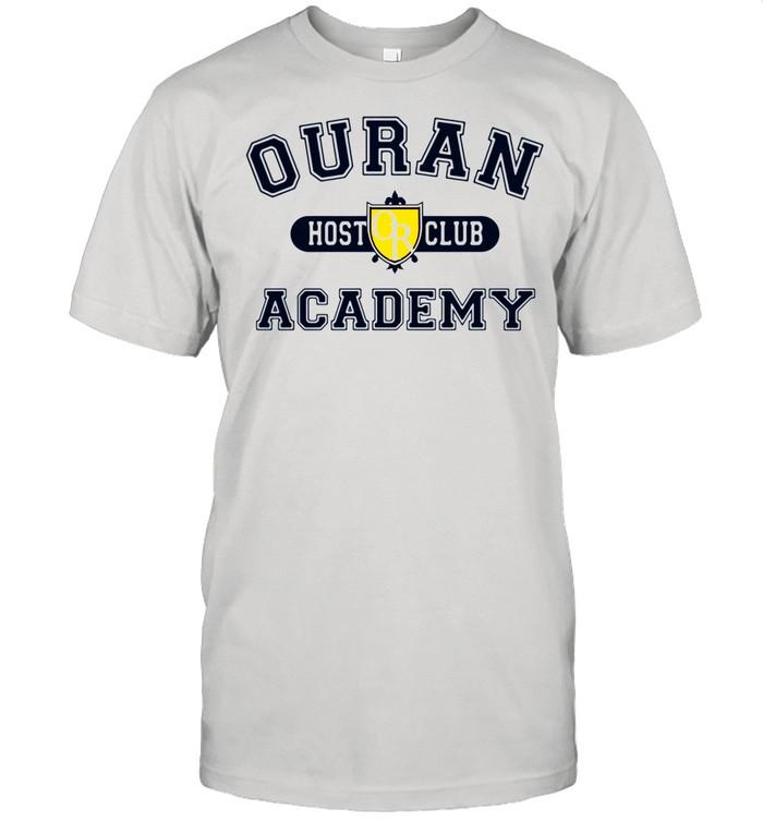 Ouran host club Academy shirt