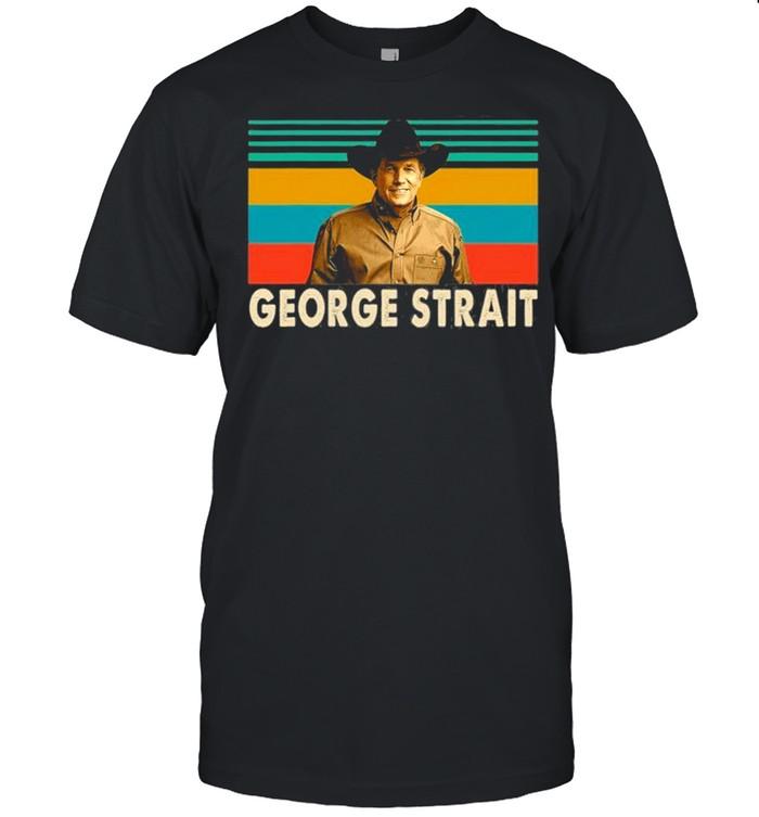 Thank You For The Memories Vintage George Art Strait Legends shirt
