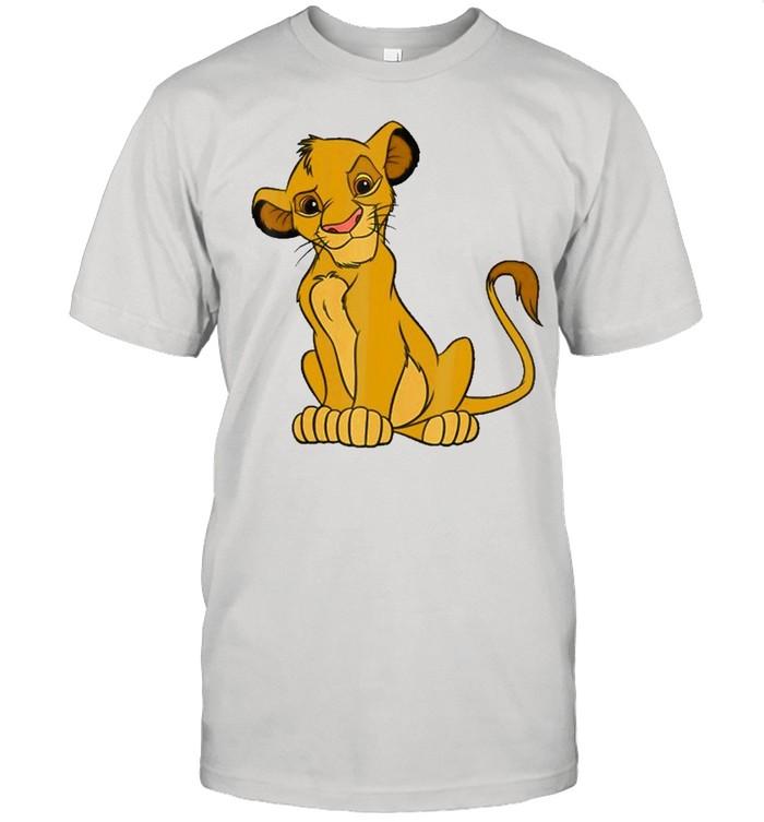The Lion King Young Simba Sitting Up Shirt