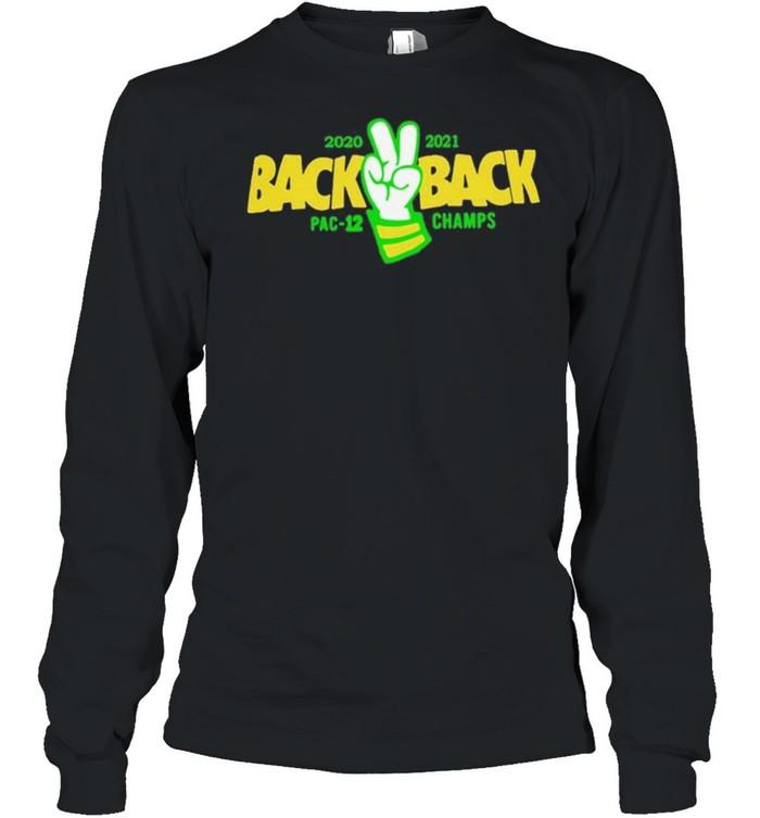 Back back pac 12 champs shirt Long Sleeved T-shirt