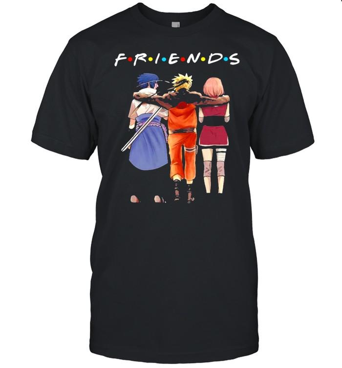 Friends Sasuke Naruto And Haruno Sakura  Classic Men's T-shirt
