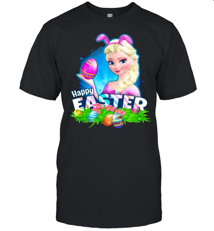 Happy Easter Day Egg Elsa Ladies Disney  Classic Men's T-shirt