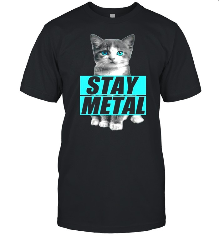 Miss May I Cat Stay Metal T-shirt