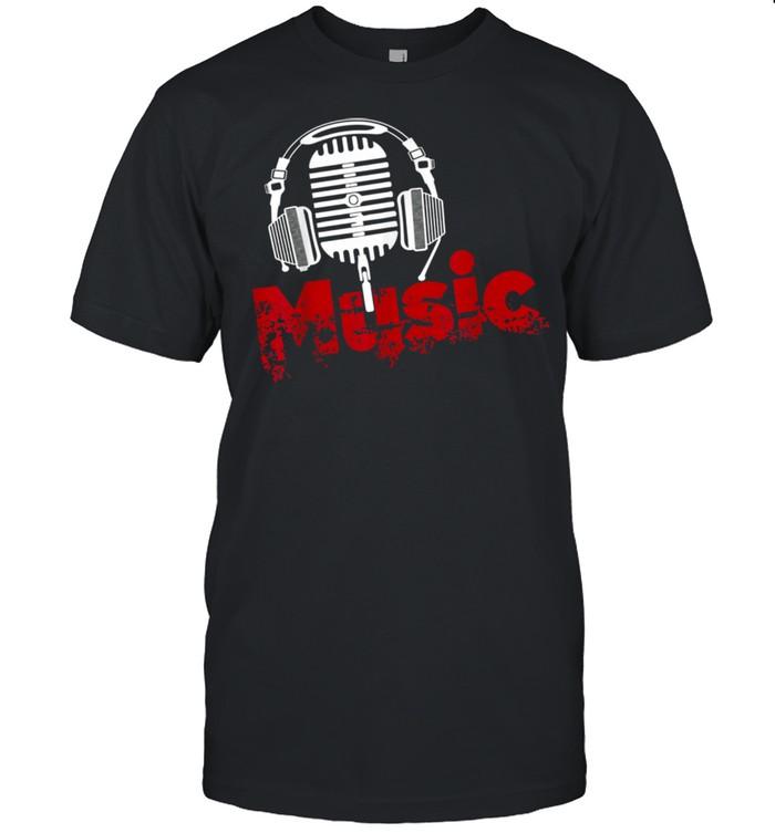 Music Microphone Apparel shirt