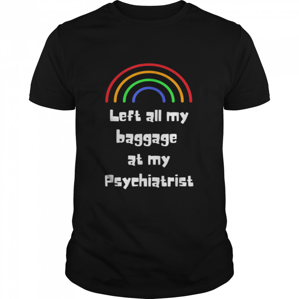 Left All My Baggage Holiday Travel shirt